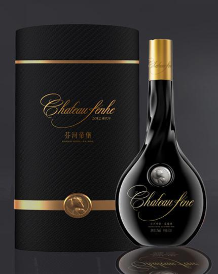 此款蓝莓酒包装,由中国著名包装设计师——武宽夫设计,此款