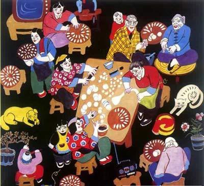 专题专栏 中秋节 中秋文化 团圆文化 >> 详细内容   除夕这一天对华人