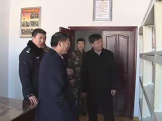 市领导看望慰问驻军部队指战员和武警部队官兵图片